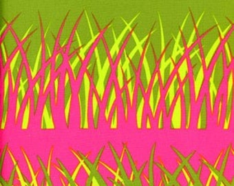 Rare Jane Sassaman Houthouse Garden Fabric Style Grasses Color Pink by Free Spirit Fabric All fabric is shipped via Priority Mail