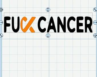 FU** Cancer SVG