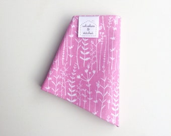 Spring Collection - Pink Floral Print Bandana