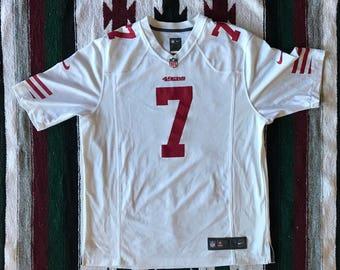 Nike On Field NFL San Francisco 49ers Colin Kaepernick Football Jersey Size XL