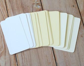200pc Elegant LINEN Lakeland Series Business Card Blanks