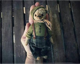 Teddy bear pattern 5,5 inch