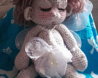 Sleeping Angel crochet.
