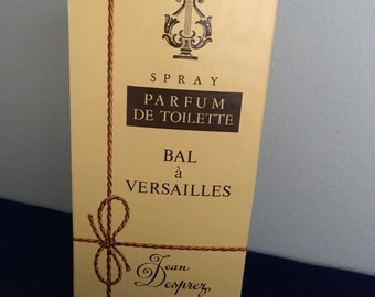 Vintage Bal A Versailles by Jean Desprez Paris Parfum De Toilette Spray