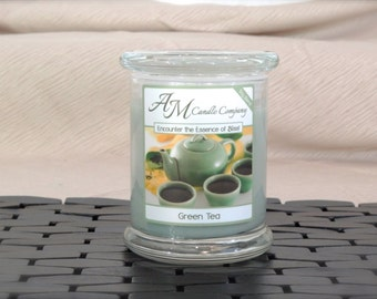 Green Tea - Scented Soy Candles, Green Tea Candles, Tea Scented Candles, Gifts for Her, Gifts for Mom, Mothers Day Gifts, Birthday Gifts
