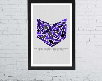 "Hawkeye Minimalist Poster | 11"" x 17"""