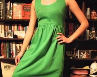 60's floor length dress