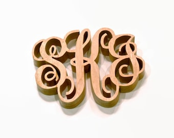 Monogrammed Kitchen Trivet Hot Pad