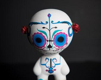 Very skull by Nira, 100% ceramic and hand!