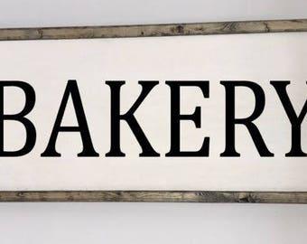 Bakery sign, Bakery wall decor, Bakery kitchen sign