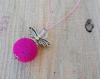 Decorative pendant Angel felt