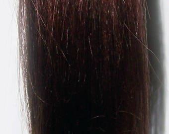 Reddish Brown Hair Ponytail