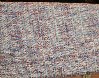 Eco Friendly Woven Rug , All Awhirl Handwoven Rag Rug