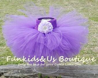 Purple Baby  Tutu Skirt - Purple Ballerina  Tutu skirt- Newborn,6,9,12,18,2T,3T,4T up to young Teen - ready to ship
