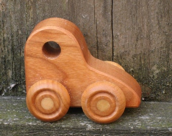 Little Wooden Toy Car - Kids wood toy
