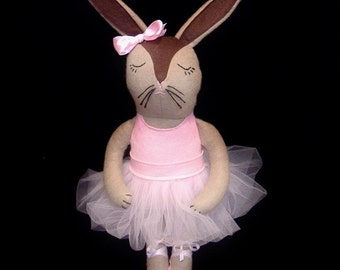 Co-Co the Ballerina Bunny Doll PDF Pattern