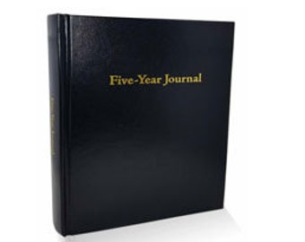 Five-Year Journal (Glossy Black)
