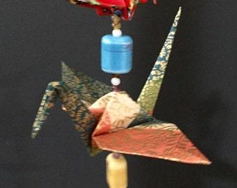 Origami Crane Mobile - 3 Birds
