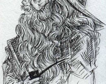 Gandalf the Grey - Original Art