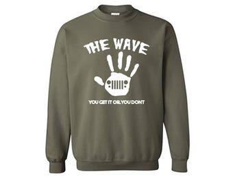 The Wave - SUV Crewneck Sweater