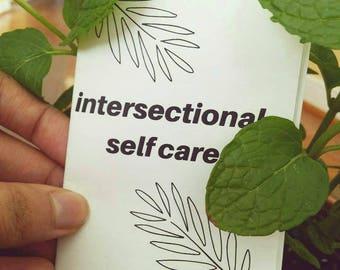 Intersectional Self Care Zine