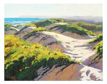 BEACH SAND DUNES Painting  by Graham Gercken