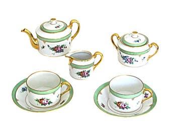 SERVING A Sevres porcelain TEACUP