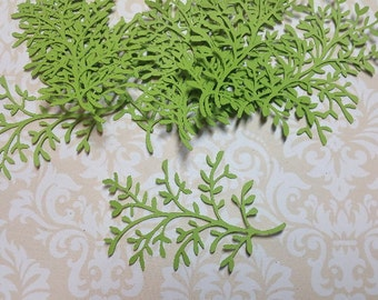 Die Cut Leaf Embellishments.  #R-28
