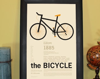 The Bicycle Print