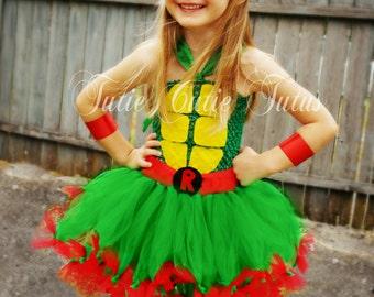 Teenage Mutant Ninja Turtle Tutu Dress Costume