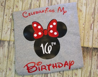 Disney Shirt Family Vacation, Mickey & Minnie Mouse