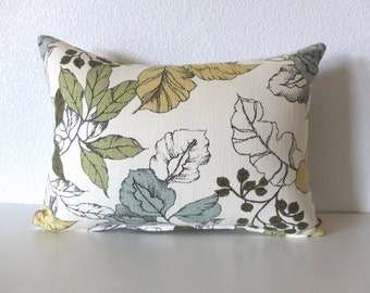 Foliage Leaf 12x16 Lumbar Pillow Cover