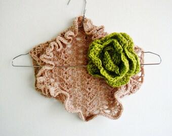 Kids Shrug Crochet Pattern, Girl Crochet Shrug PATTERN with Crochet Flower, 237