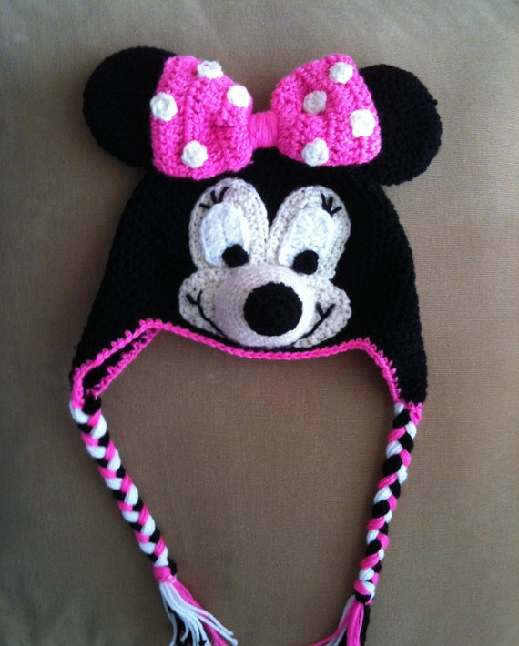 Minnie Mouse Crochet Hat Pattern Image Collections Knitting