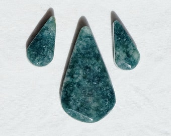 Set in jade from Guatemala - Lot media