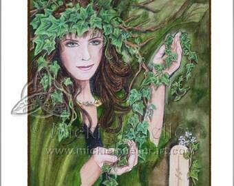 Ivy Card Giclee Print