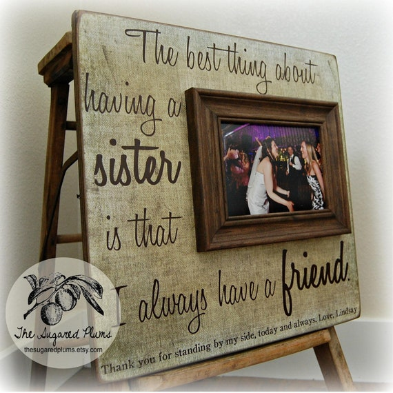 Sister In Law Wedding Gift: SISTER GIFT Unique Sister Gift Sister Gift In Law Best
