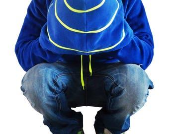 Sweatshirt fleece Hoodie made in France SIDELIC