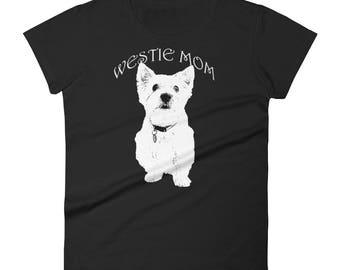Westie Mom Women's short sleeve t-shirt