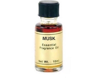 Musk Oil - 10ml, Essential fragrance oil, Scent magick, Candle dressing, Rich earthy scent, Annointing oil, Aromatherapy, Musk aroma