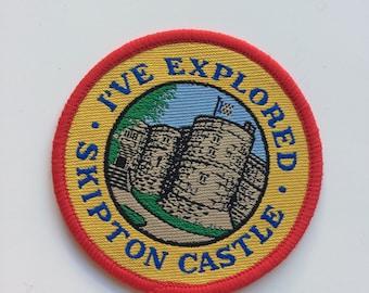 I've explored Skipton Castle travel souvenir patch