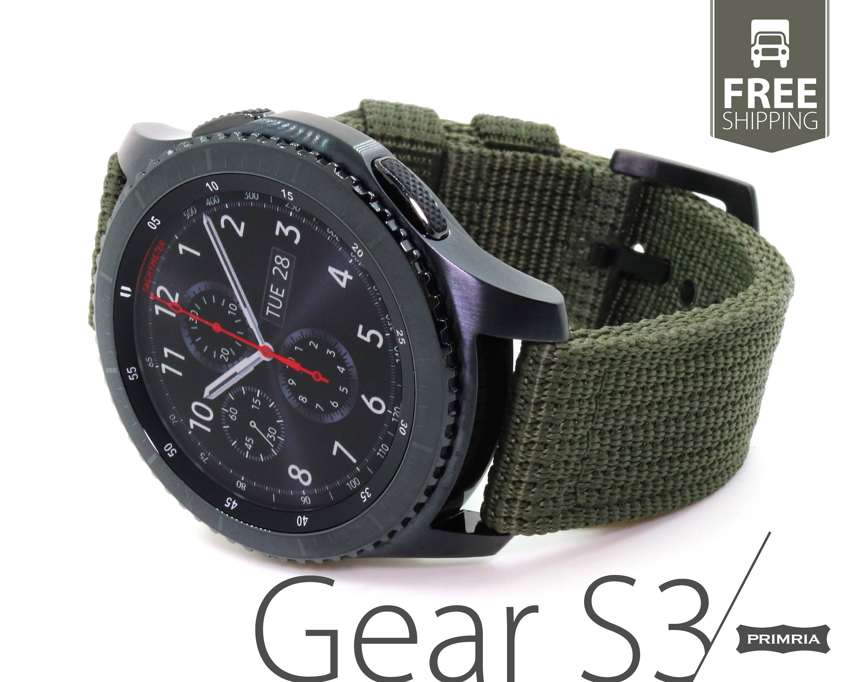 Samsung Gear S3 Frontier / Classic / Sport Nylon Nato Heavy