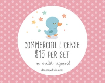 Digital Clip Art Commercial License - No Credit Required