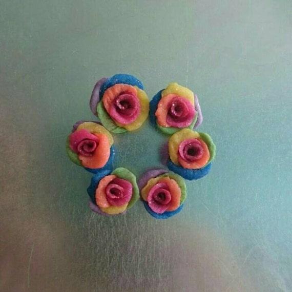 Acrylic Nails, Nail Charms, Nail Art Charms, craft supplies, rose ...