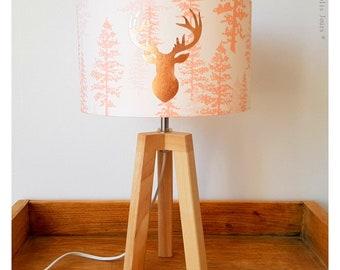 WOODLAND tripod lamp