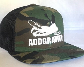 Snowboard Trucker Hat - 2 Colors Available