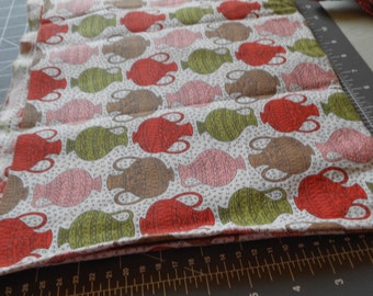REDUCED PRICE Vintage feedbags with red green pink jugs