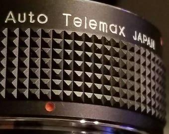 Vintage owen 2 x telemax lens