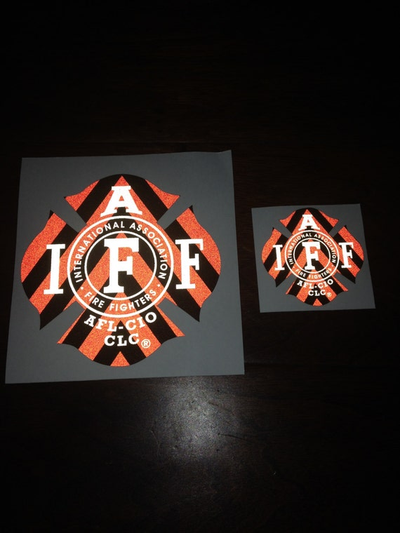 Black Helmet Crescent Decals