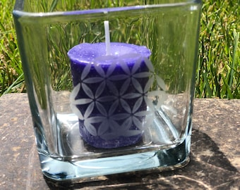 Flower of Life candle holder